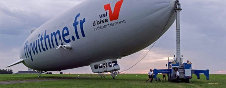 Hop Onboard the Helium-Inflated Zeppelin for a Bird's Eye View of Paris