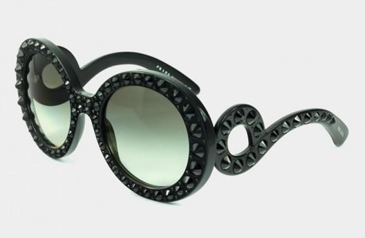 Prada gets bold with the Prada Precious Ornate sunglasses collection