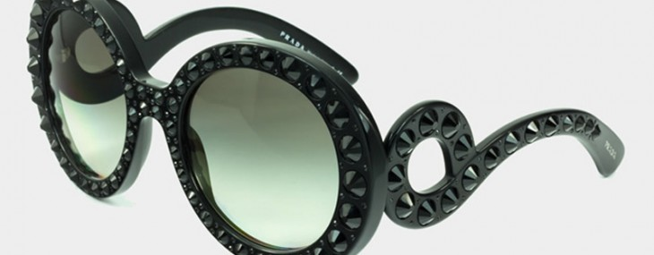 Prada gets bold with the Prada Precious Ornate sunglasses collection