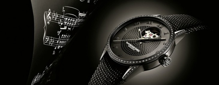 Raymond Weil is offering a completely black clock designed for ladies