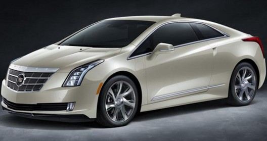 Cadillac ELR was one of General Motors' premiere at this year's Auto Show in Detroit