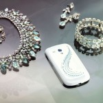 Samsung Galaxy S III Adorned with Swarovski Crystals