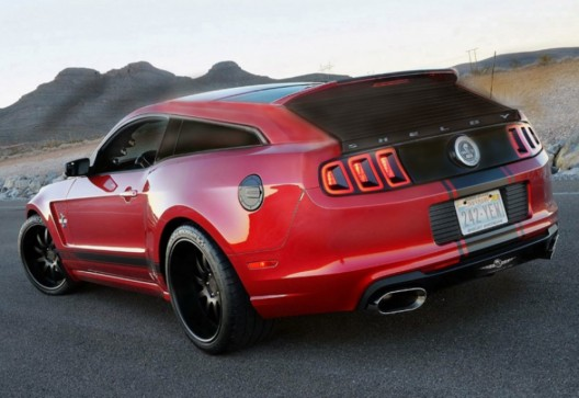 Yacht builder to design Shelby GT500 Super Wagon