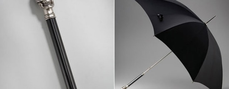 Need To Keep Dry? This Alexander McQueen Umbrella Is Subtle But Awesome