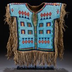 Sioux Boy's Beaded Hide Shirt Higlight at Heritage Auctions
