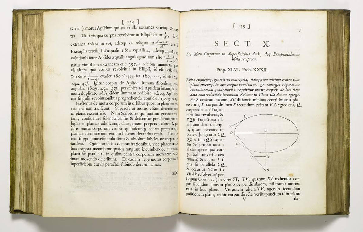 SOTHEBY'S LONDON TO OFFER A RARE FIRST EDITION OFSIR ISAAC NEWTON'S GREATEST WORK,