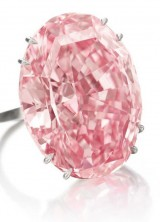 Pink Star diamond sells for £52m at Sotheby's Geneva