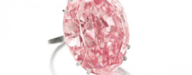 Sotheby's Pink Star Diamond Sold for World Record $83 Million