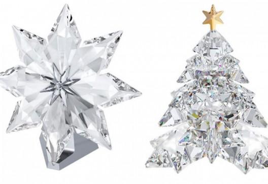Swarovski Celebrates With 2013 Christmas Star And Christmas Tree