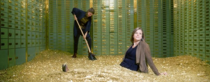 "Now You Can Make Scrooge McDuck ""Gold Coin Swim"" – Swiss Bank Safe Laden with 8 Million Coins on Sale"