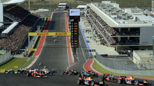 What $50k Buys You At This Weekend's F1/Grand Prix In Austin