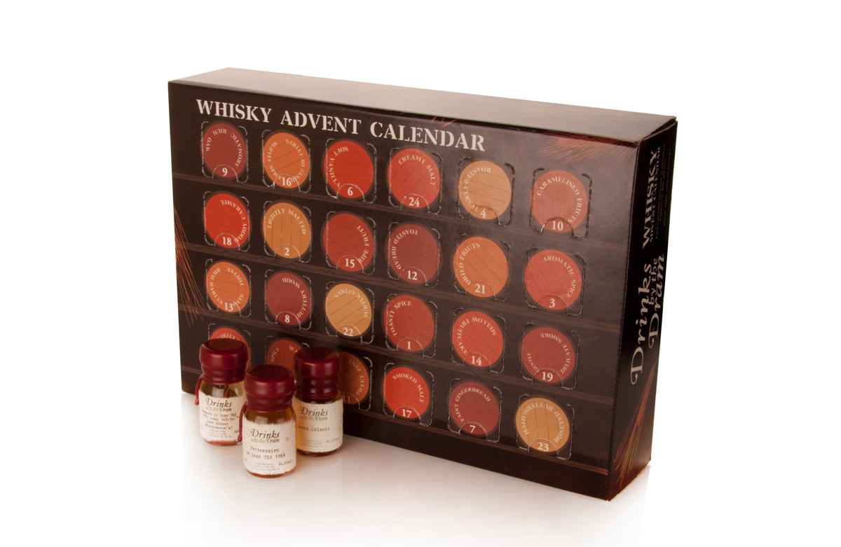 Drinks By The Dram Launches Four Advent Calendars For This