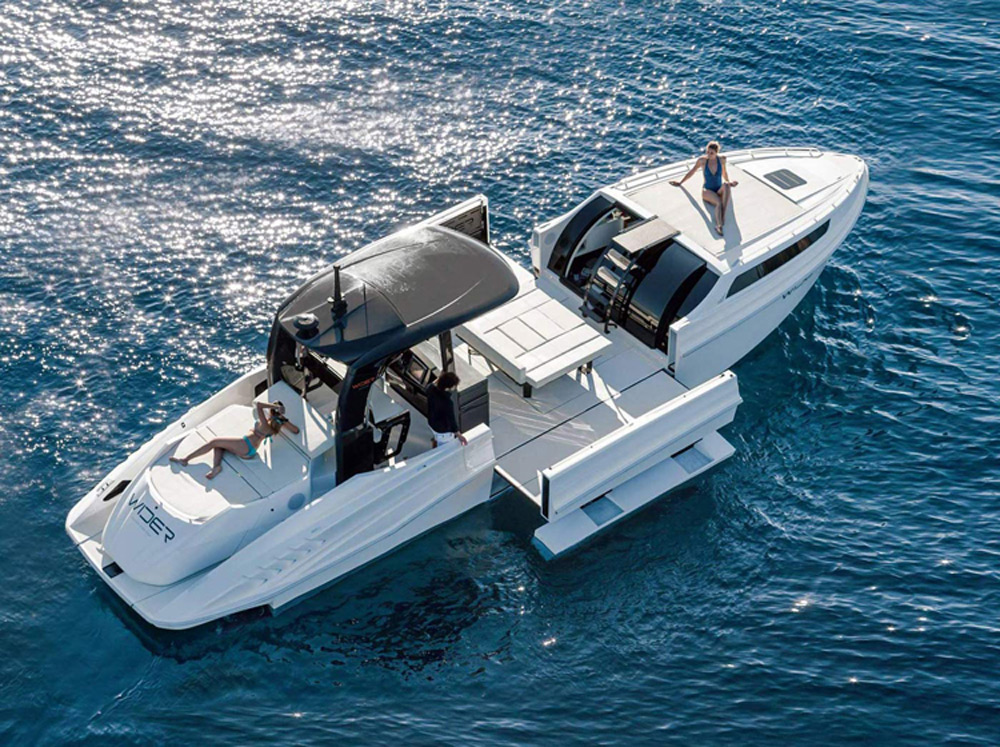 Wider 42 - Luxury Yacht with the Possibility of Extension ...