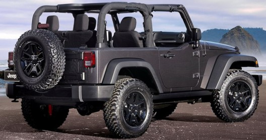 Another premiere of the upcoming Motor Show in Los Angeles will be a new special edition of Jeep Wrangler