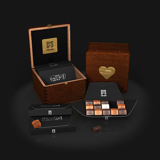 Premium Chocolate Gift Boxes : Zchocolat styled premium chocolates in ultra stylish