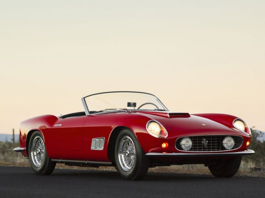 Highly Prized 1958 Ferrari 250 GT LWB California Spider Leading at RM'S 15th Annual Arizona Sale