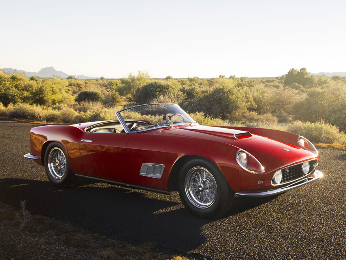 Highly Prized 1958 Ferrari 250 Gt Lwb California Spider