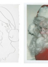Andy Warhol's Original Artworks at Christie's Christmas Online-only Auction