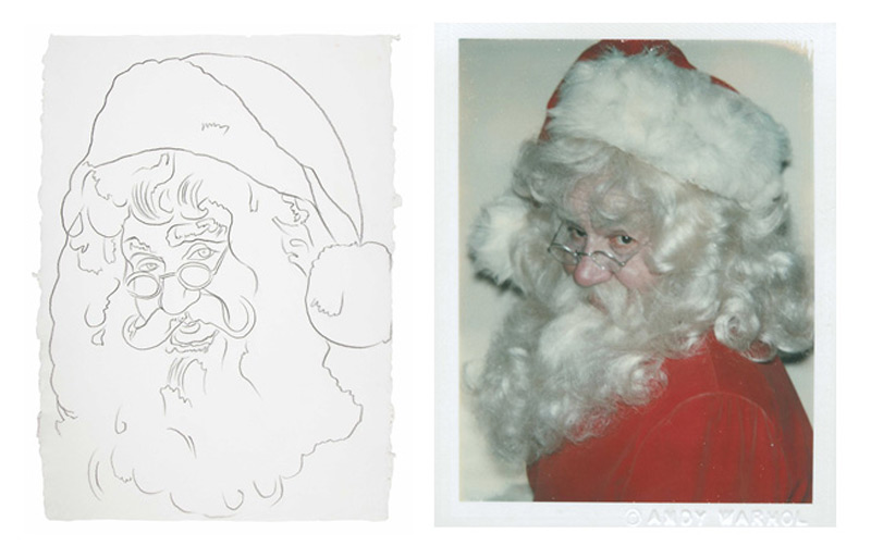 Play Santa With Andy Warhol at Christie's: A Christmas Thing