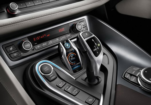 "BMW has created for the model i8 a new kind of "" key "" with the display"