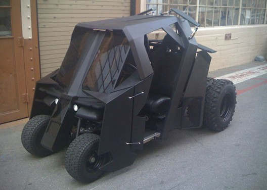 Unique Batman Tumbler Golf Cart Is Worth $17,500