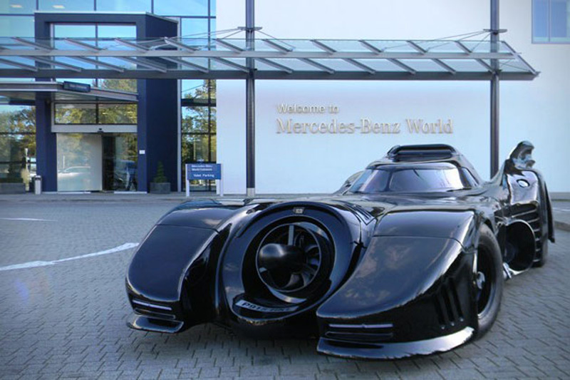 Batmobile Replica Auctioned Off by Historics at Brooklands