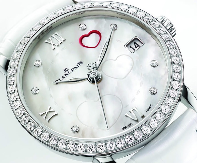 Blancpain Saint Valentin 2014 timepiece pays homage to love