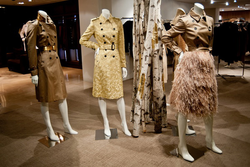 Christopher Bailey's Limited Edition Burberry Trench Coats at Bergdorf's