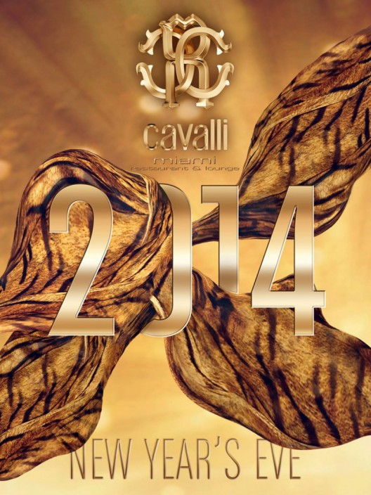 Ring in 2014 with style at the Cavalli Miami Restaurant & Lounge