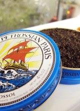 Caviar in the Air Carry-on Picnic Pack at Petrossian LAX