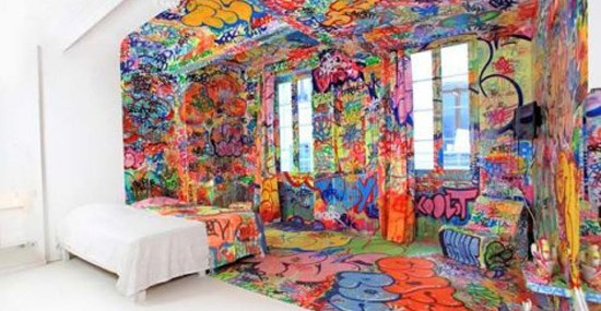 Colorful Panic Room