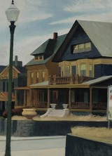 "Edward Hopper's ""East Wind Over Weehawken"" Sold for $40.5 Million"