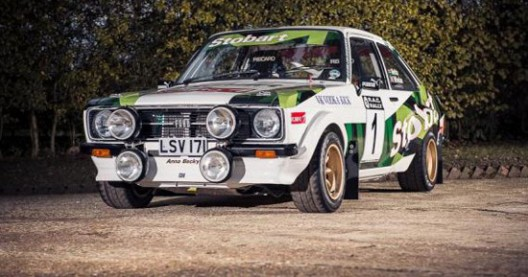 Ford Escort MK2 R1800 Driven By Colin McRae On Auction