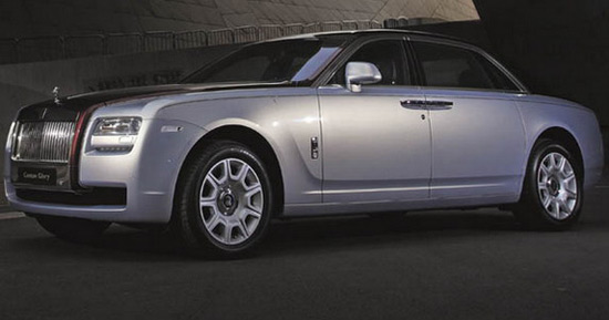 Rolls Royce Ghost Canton Glory Special Edition will be offered in a series of only two pieces