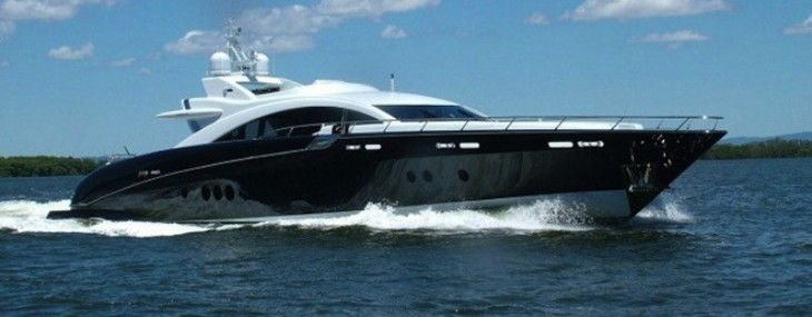 Brangelina's $10M Toy: The Speedy 120-foot Warren Sports Yacht Ghost II
