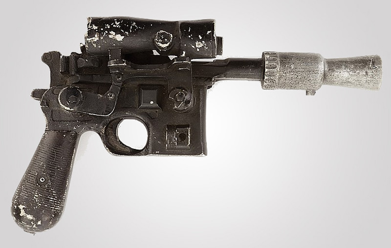 Han Solo's Star Wars blaster pistol might auction for a cool $300,000