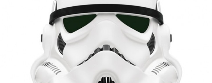 Original Stormtrooper Helmet Signed by George Lucas Sold for $245,000 at Charity Auction