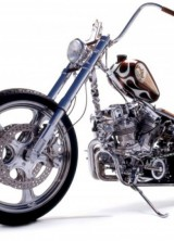 "Indian Larry's ""Wild Child"" Chopper for $750,000 at Neiman Marcus Christmas Book 2013"