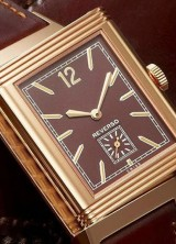 Jaeger-Lecoultre Grande Reverso Ultra Thin 1931 with Pink gold Case and Chocolate-toned Dial
