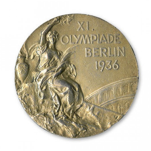 Jesse Owens' 1936 gold medal sold for nearly $1.5 million