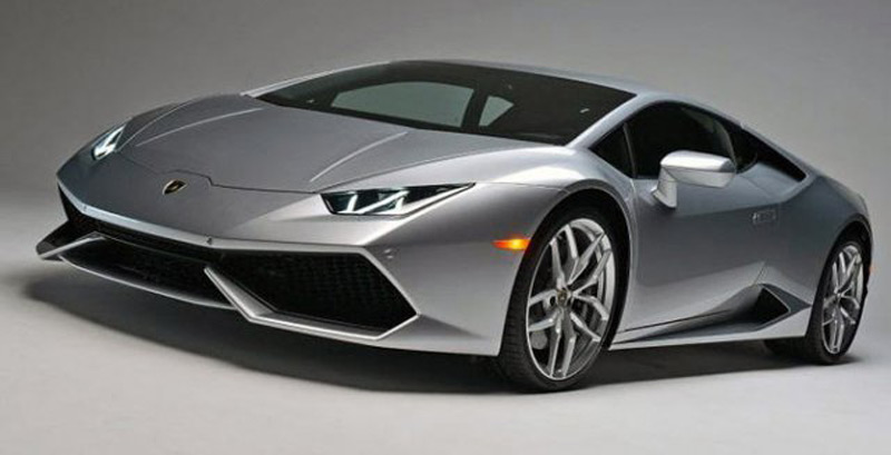 Lamborghini has released the first pictures and technical details of the model Huracan