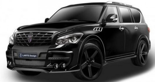 Infiniti QX80 with a 5.6-liter V8 engine