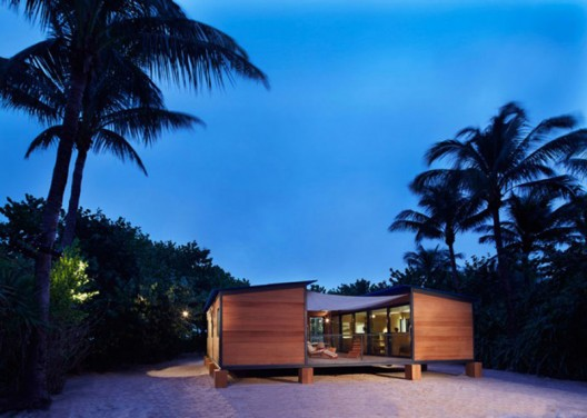 Louis Vuitton builds a 1930-inspired Perriand beach house in Miami