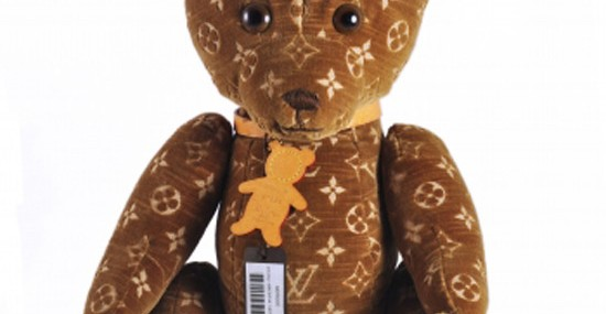 Toy Tokyo NYC Offers Louis Vuitton Monogram Teddy Bear