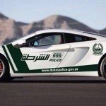 Dubai Police Added McLaren MP4-12C In Its Fleet