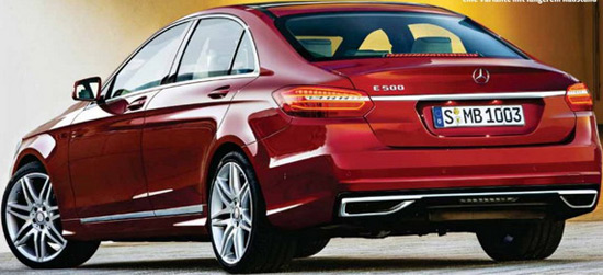 ... Mercedes E-Class will appear in sedan, wagon, coupe and convertible versions