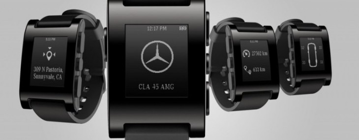 Mercedes-Benz creates watch that connects with your car