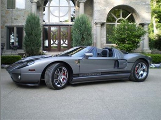A modified Ford GT X1 appeared on duPontRegistry