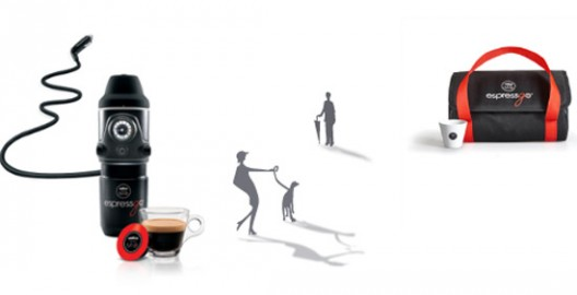Lavazza launches a portable espresso machine