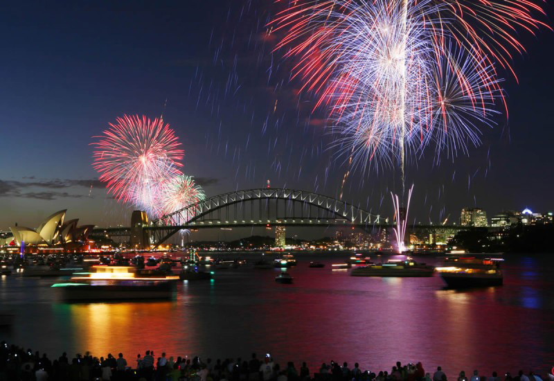 Bring In The New Year Twice In A Single Night In Sydney And Los Angeles